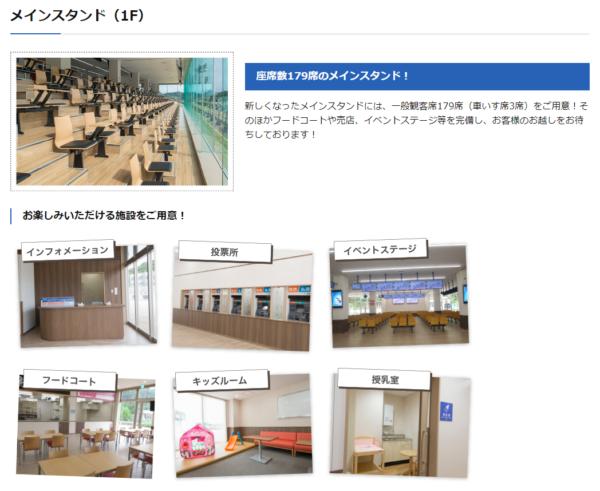 武雄競輪場のマップ
