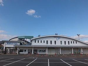別府競輪場の入り口